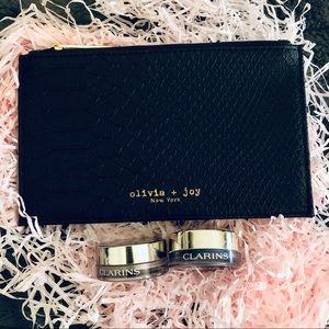 💄5/$35💄 🆕 Olivia & Joy + Clarins Make Up Bundle